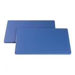 planche de découpe 1/1 GN 53x32.5 bleu poisson
