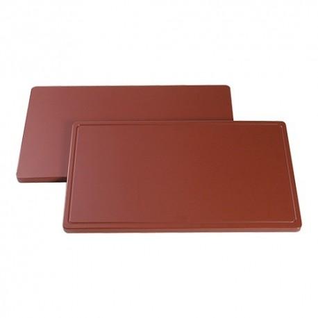 planche de découpe 1/1 GN 53x32.5 brun saucisson rôti