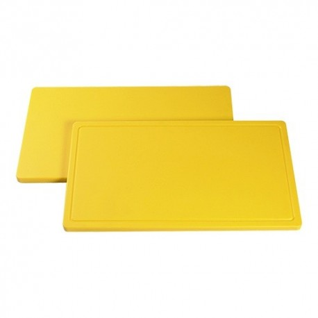 planche de découpe 1/1 GN 53x32.5 jaune volaille