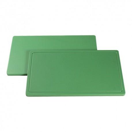 planche de découpe 1/1 GN 53x32.5 vert fruit et légume