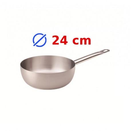 casserole conique inox 24 cm